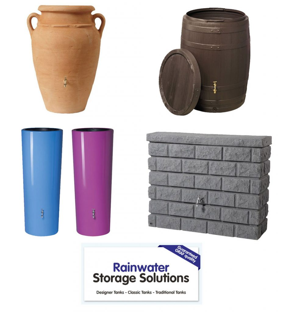 Stylish Garden Rainwater Storage Solutions