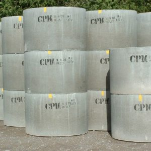 Concrete manhole rings