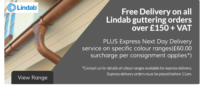 Lindab Guttering Free Delivery