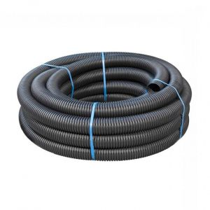 Land drain pipe coil