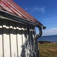 NEW: Lindab Magestic galvanised steel guttering