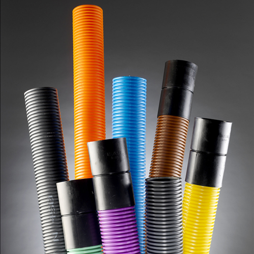 Underground drainage: coils, pipes and ducting