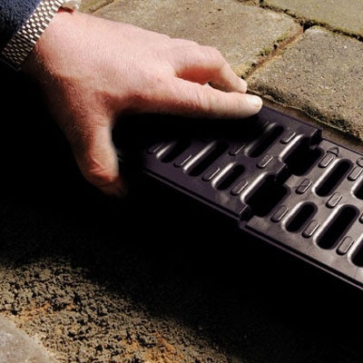 How does channel drainage work?