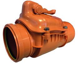 Underground Drain Sewer Pipe Non Return Valve Dek Drain