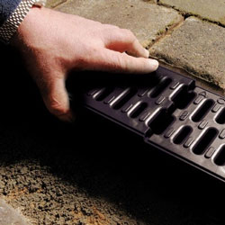 Channel drains are used for many different purposes
