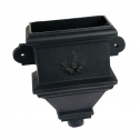 Suitable For 65mm Square & 68mm Round Downpipe