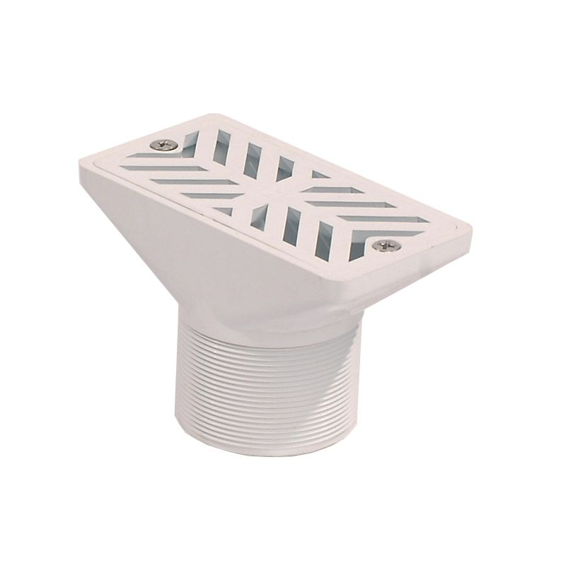 Swimming Pool Gutter Drain 63mm Diameter Plastic