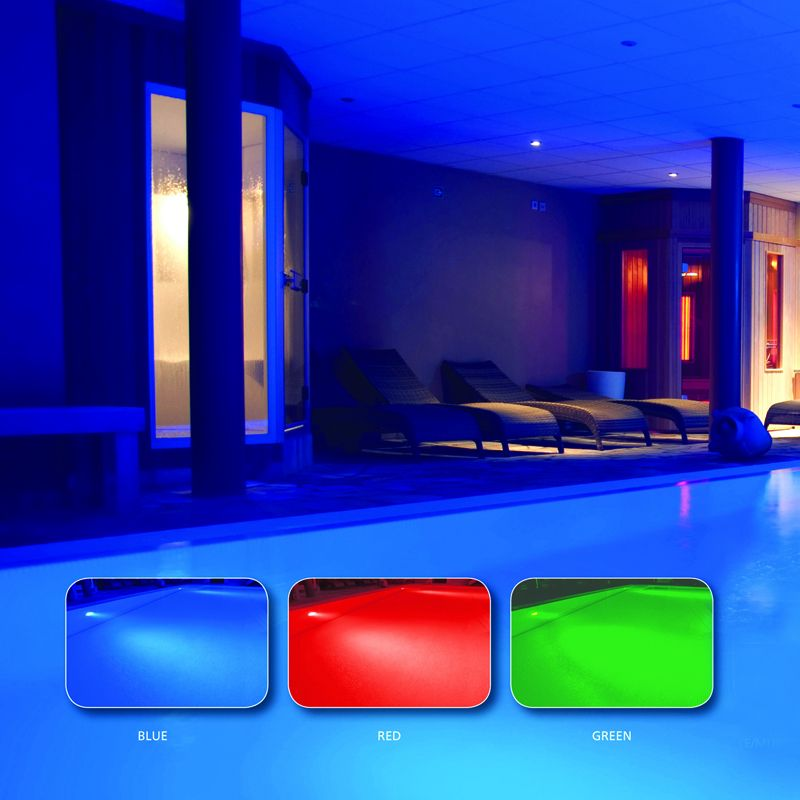 Colour Change Swimming Pool Light And Niche Concrete Installation Drainage Superstore
