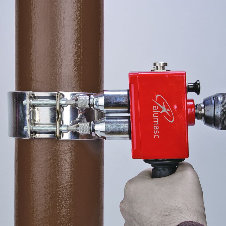 How do you install underground drainpipe?