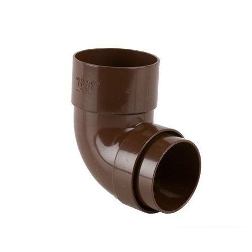 Plastic Guttering Round Style Downpipe 92 5 Degree Bend