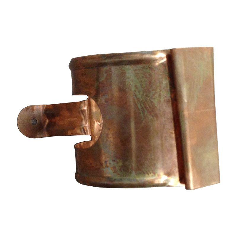 Copper Guttering Downpipe Bracket Lindab Rainline 75mm