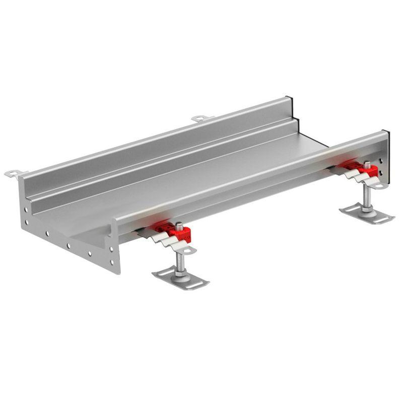 internal channel drain 95mm invert 2000mm length aco. Black Bedroom Furniture Sets. Home Design Ideas