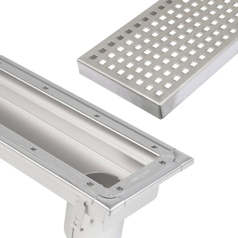 Commercial Linear Channel Drain 1000mm For Sheet Floor