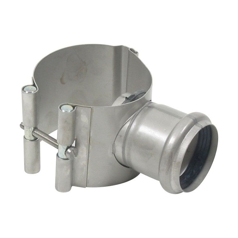 Stainless steel pipe mm saddle clamp grade blucher