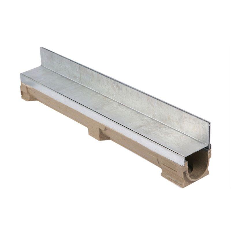Slot Channel Drain Concrete Base 1000l X 131w X 212h