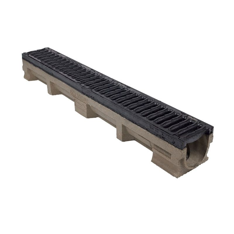 Heavy Duty Channel Drain Iron Grate 1000l X 142w X 127h