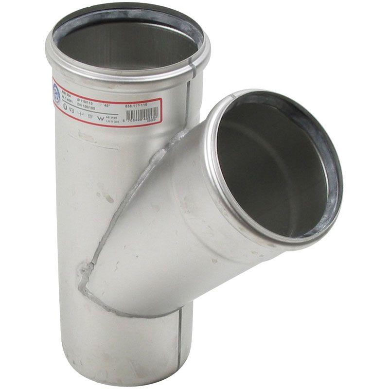 Stainless steel pipe mm dg branch grade blucher