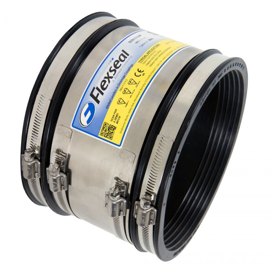 Flexseal 250mm To 275mm Rubber Flexible Drainage Adaptor