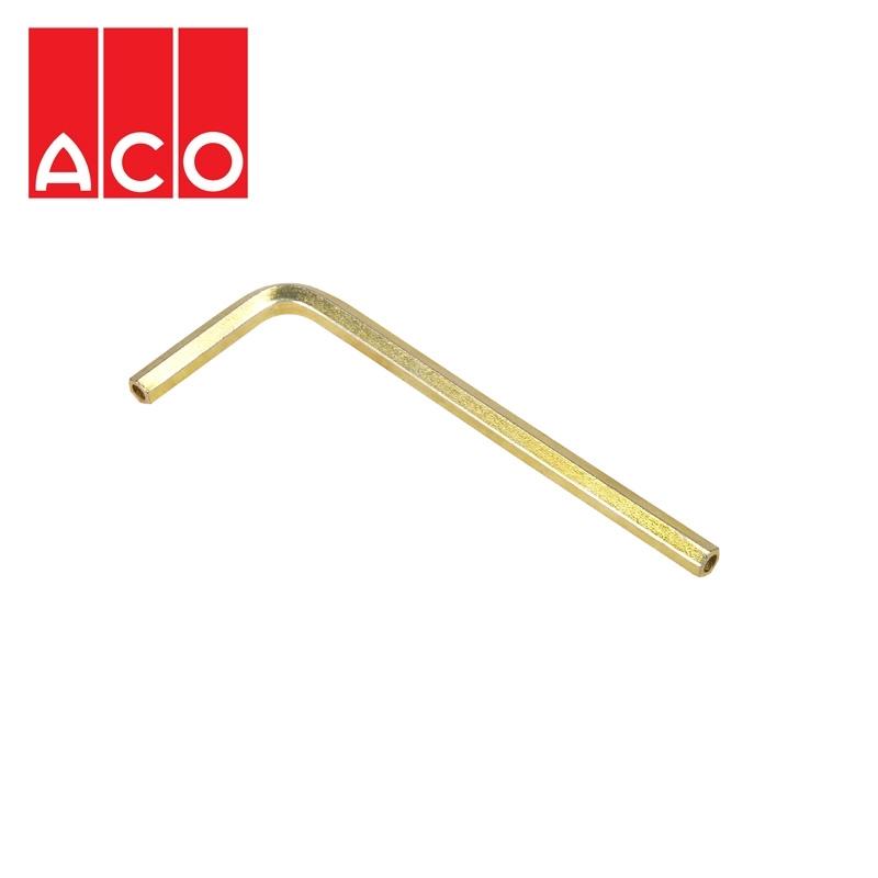 aco channel drain heelguard locking key drainage superstore. Black Bedroom Furniture Sets. Home Design Ideas