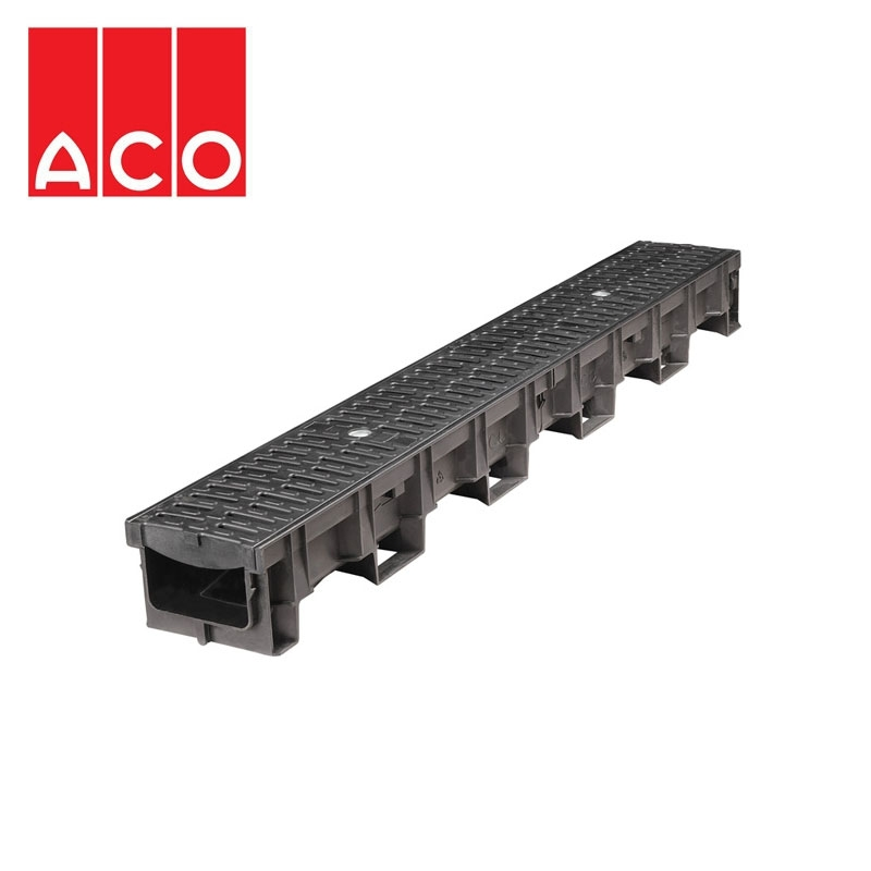 aco eyeleds channel with 2 eyeled gratings and white led. Black Bedroom Furniture Sets. Home Design Ideas