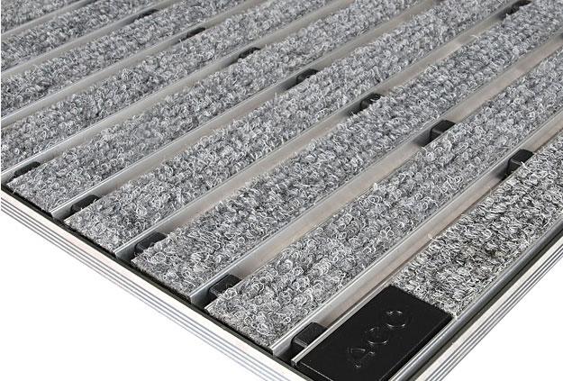 Aco Indoor Drainage Matwell 750mm X 500mm Light Grey