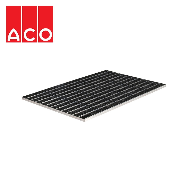 Aco Indoor Drainage Matwell 600mm X 400mm Anthracite