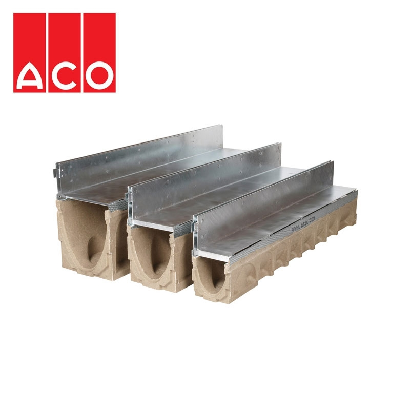 Block slot channel drain