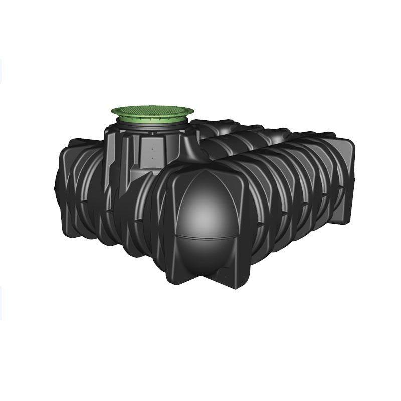 Rainwater Harvesting Tank Low Profile 5000l Graf Platin