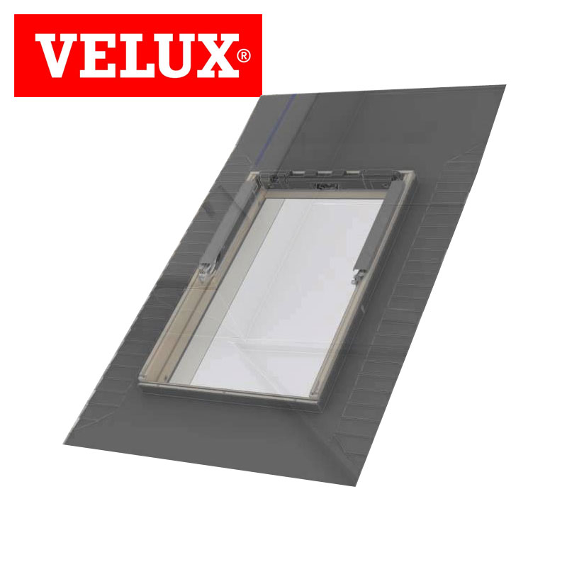 bathroom roof window velux slate flashing kit edl ck02 0000 55cm x 78cm drainage superstore. Black Bedroom Furniture Sets. Home Design Ideas