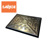 Access Manhole Cover and Frame 600mm x 450mm - 17 Tonne