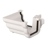 Plastic Guttering Ogee Prostyle 90 Degree External Angle 106mm White