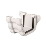 Plastic Guttering Ogee Prostyle Union Bracket 106mm - White