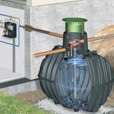 Rainwater Harvester Tank 6500L Graf Carat-S House-Professional