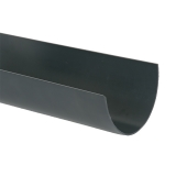 Plastic Guttering Deepstyle 4m Length 115mm - Anthracite Grey