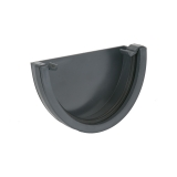 Plastic Guttering Deepstyle External 115mm - Anthracite Grey