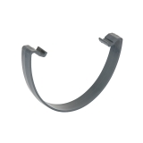 Plastic Guttering Deepstyle Gutter Clip 115mm - Anthracite Grey