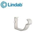 Lindab Half Round Fascia Bracket 100mm Painted Antique White