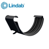 Lindab Half Round Gutter Joint 150mm Painted Black