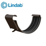 Lindab Half Round Gutter Joint 125mm Painted Brown