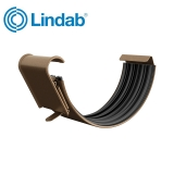 Lindab Half Round Gutter Joint 125mm Painted Copper Metallic