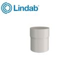 Lindab Round Pipe Connector 75mm Painted Antique White