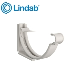 Lindab Round Adjustable Snap-On Bracket 100mm Painted White