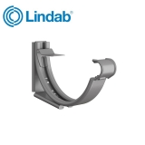 Lindab Round Adjustable Snap-On Bracket 100mm Painted Anthracite