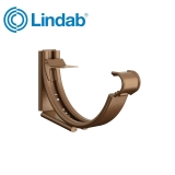 Lindab Round Adjustable Snap-On Bracket 125mm Painted Copper