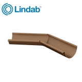 Lindab Half Round 135dg Inner Gutter Angle 150mm Painted Copper