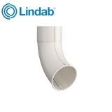 Lindab Round Downpipe Outlet Shoe 75mm Painted Antique White