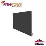 uPVC 410mm Replacement Fascia Board (18mm Double Edge) 2.5m Dark Grey