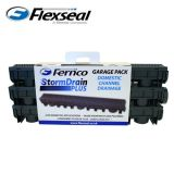 Drainage Channel Fernco Stormdrain Garage Pack - Plastic Channel Drain