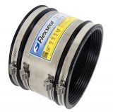 Flexseal 100mm to 115mm Rubber Flexible Standard Drainage Coupling