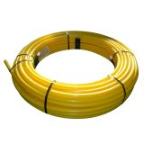 Gas Pipe MDPE Coil 63mm x 50m - Yellow